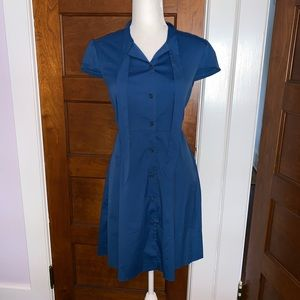 Blue A Line Theory Dress